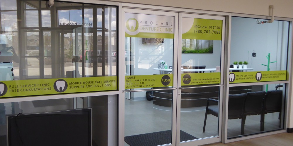 ProCare Denture Clinic Interior Entrance
